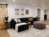 Our Basement Renovation: from bad to glad