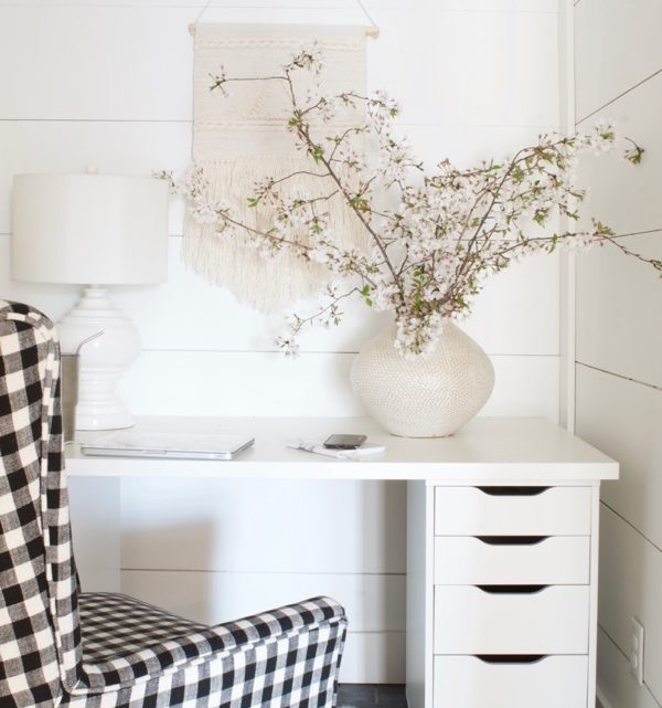 A Cozy Minimalist Office :: A $500 Giveaway