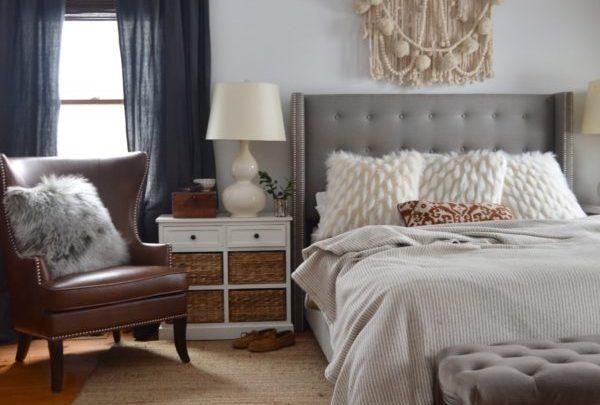 Room in Progress:: Our Cozy + Simple Bedroom