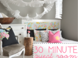 30 Minute Guest Room Makeover
