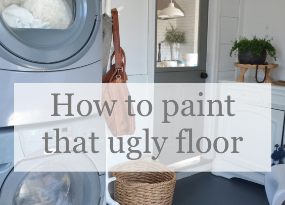 When it's Time to Paint Your Ugly Floor